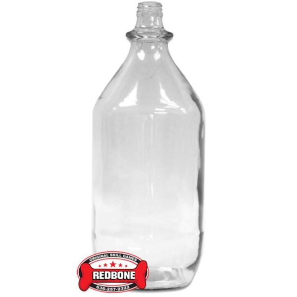 64oz Clear Glass Bottle