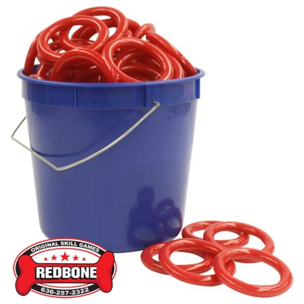 Blue Bucket of Rings