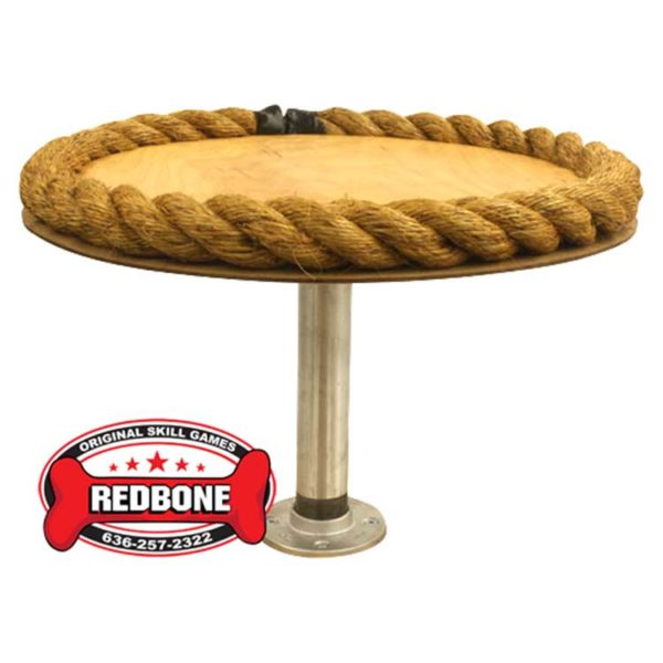 Rope Pedestal table